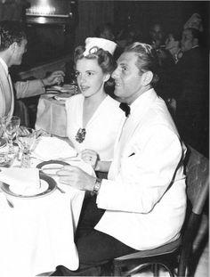 Judy Garland and husband David Rose