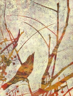 karyn fendley - remnant wilderness - remember the song birds? Bird Artwork, Gelli Arts, Australian Artists, Art And Illustration, Art Plastique, Art Techniques, Painting Inspiration, New Art, Art Projects