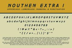 NOUTHEN is a font that I maximize with slab serif and looks more old western, and now ready for sharing. I also provide additional fonts and some original hand Indesign Magazine Templates, Slab Serif, Hand Illustration, Lowercase A, Have A Great Day, Vector Design, Lorem Ipsum, Create Yourself, Cool Designs