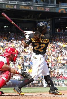 Andrew McCutchen, Pittsburgh Pirates Bull Durham, Mlb The Show, Pnc Park, America's Pastime, Mike Trout, The Outfield, Pittsburgh Pirates, Team Photos, Baseball Players