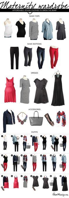 Conjuntos bonitos para lucir durante nuestro #embarazo :)  #moda #mamás…