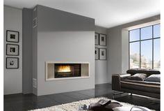 La cheminée encastrée Vision, vous fera bénéficier d'une vue 16/9ème du feu. En pierre de Chazelles, elle sera parfaite dans un intérieur contemporain.