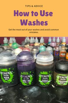 How to Use Washes for Painting Miniatures (Tips & Advice) is part of Miniature painting Techniques - You can get some great results in miniature painting using washes I've got some tips & advice to help you learn and to avoid common mistakes Painting & Drawing, Painting Tips, Figure Painting, Painting Techniques, Painting Tutorials, Warhammer 40k Figures, Warhammer Paint, Warhammer 40k Miniatures, Warhammer 40000