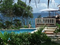 Our pool & terrace area at Petite Anse Hotel, Grenada Grenada Caribbean, Southern Caribbean, Grenada Island, Underwater Sculpture, Bequia, Hotel Pool, Small Island, White Sand Beach, Beautiful Islands