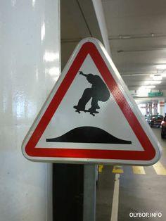 Skateboard jumps ahead