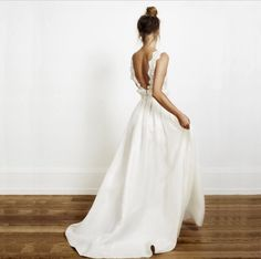 Like the lace and the shape of the gown