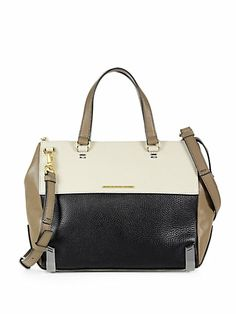 Marc by Marc Jacobs - Shelter Colorblock Textured Satchel - Saks.com
