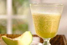 Suco de Laranja com Melão e Hortelã: saboroso!