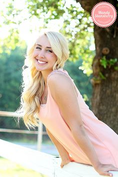 she is rocking that pink shirt! Senior Portraits Girl, Photography Senior Pictures, Senior Girl Poses, Girl Senior Pictures, Summer Photography, Photography Lessons, Senior Girls, Photography Women, Portrait Photography