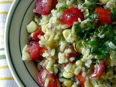 Southwest Rice Salad with Lemon Dressing by ~CinnamonGirl, via Flickr