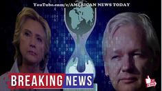 Fearing Death, WikiLeaks Julian Assange Releases Password to Large Cache of Hillary Files! - YouTube