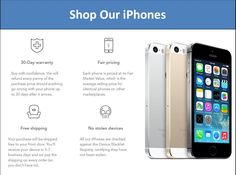 Browse the collection of second hand iphones with good condition and at affordable price.