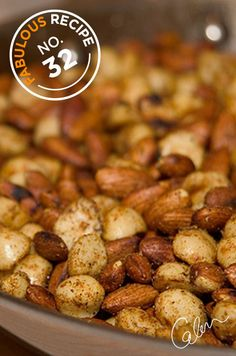 Colin's delicious recipe for Spice-Dusted Toasted Nuts is ideal for the chilly holiday season.