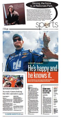 Sports, May 5, 2015.