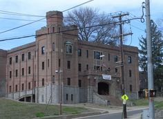 The Ansonia National Guard Armory, at the corner of State and North Cliff Streets, was built between 1919 and 1921.