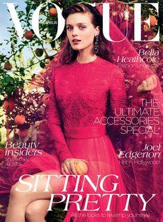 Bella Heathcote Vogue Australia September 2012