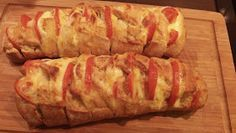 Goldengelchen: Tomate-Mozzarella-Baguette