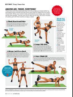 Tracy Anderson Health Mag Octobet 2014
