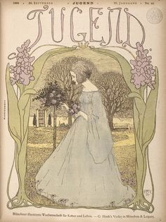 """""""Jugend (Youth): Munich illustrated weekly journal of art and life"""", 30 September 1899, page 641."""