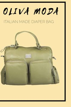 Oliva Moda bags are the perfect diaper bags, laptop bag, handbag, overnight bag, and more. Handmade in Florence, Italy and made with genuine leather, they come in five different colors! An order of an Oliva Moda bag includes a leather clutch, detachable messenger strap, water bottle holder, and more.