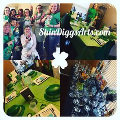 Sip and Paint with ShinDiggs Arts and Entertainment! We bring the art studio to you in Maryland, DC and Virginia. www.shindiggsarts.com #SipandPaint #WineGlass #BeerMugs #GlassPainting #GirlsNightOut #DateNight