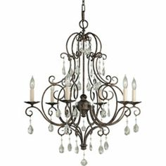 Buy the Murray Feiss Mocha Bronze Direct. Shop for the Murray Feiss Mocha Bronze Chateau Crystal 8 Light Chandelier and save. Kathy Ireland, Bronze Chandelier, Chandelier Lighting, Chandelier Ideas, Crystal Chandeliers, Candle Chandelier, Victorian Chandeliers, Chandelier Makeover, Craft Ideas