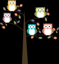 Owls for wall art