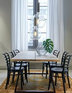 Gathering series 3 full decoration of the best home living room from social media for your creations 1 « Dreamsscape Dinning Table Design, Dining Table Lighting, Concrete Dining Table, Diy Dining Table, Walnut Dining Table, Console Table, Home Living Room, Living Room Decor, Dinner Room