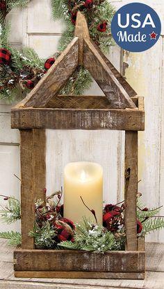 Christmas Lanterns, Christmas Wood, Diy Christmas Ornaments, Christmas Projects, Holiday Crafts, Christmas Decorations, Craft Stick Projects, Craft Stick Crafts, Diy Crafts