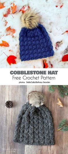 Exceptional Stitches Make a Crochet Hat Ideas. Extraordinary Stitches Make a Crochet Hat Ideas. Crochet Adult Hat, Crochet Cap, Crochet Quilt, Crochet Cross, Crochet Beanie, Free Crochet, Crocheted Hats, Crochet For Beginners, Crochet Projects