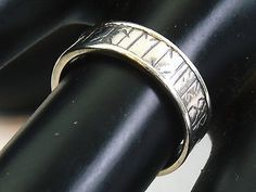 STERLING SILVER RING BY OLA GORIE    Runic 'Orkney' Ring   Scottish 925  Size M - http://elegant.designerjewelrygalleria.com/ola-gorie/sterling-silver-ring-by-ola-gorie-runic-orkney-ring-scottish-925-size-m/