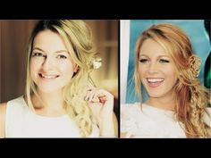 ▶ Blake Lively inspirierte Frisur by Dijana2407 - YouTube