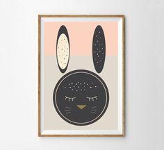 Midcentury Easter Print