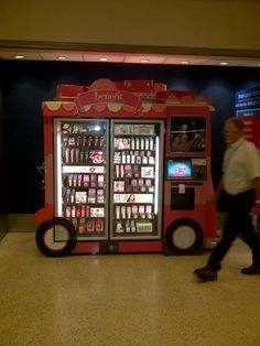 Benefit Vending Machines I Got Time For That... I would love to have one of those