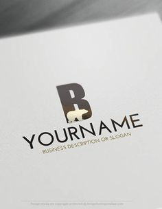 Exclusive design deutschland initials logo free business card free logo maker create your own bear logo template reheart Gallery