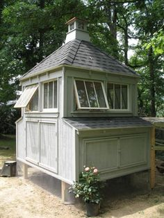 this might be the most perfect and well thought out chicken coop...love it!