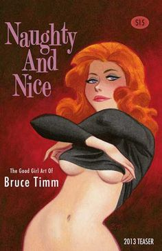 Ginger ~Naughty & Nice: The Good Girl Art of Bruce Timm: 2013 Teaser. Bruce Timm, Harley Quinn, Character Designer, Batman The Animated Series, 2d Art, Character Drawing, Comic Artist, Erotic Art, Cartoon Art
