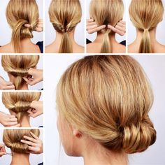 Easy hairstyles ideas step by step video tutorials for beginners Hair Inspo For Simple Everyday Hairstyles – Lazy Hairstyles! Let's look at some easy everyday hairstyles for long hair, medium length hair, and short hair too. Lazy Girl Hairstyles, Easy Everyday Hairstyles, Easy Hairstyles For Medium Hair, Step By Step Hairstyles, Quick Hairstyles, Wedding Hairstyles, Braided Hairstyles, Easy Updo Thin Hair, Bridal Hairstyle