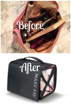 Mary Kay Travel Bag, saving friendship & relationships. Appear organized and collected even if you're really not!  http://www.marykay.com/KSheridan211/en-US/Makeup/Tools/Travel-Bag/Mary-Kay-Travel-Roll-Up-Bag/170304.partId?eCatId=10652