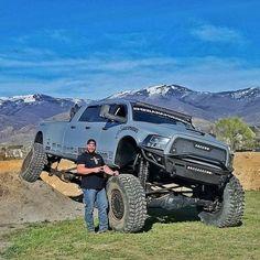 Mega Ram Runner - Big, Bad, Dodge 3500 6 Door Diesel