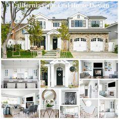 California Cape Cod Home Design