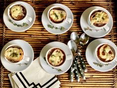New Takes On Flavorful Holiday Appetizers - Classic Casual Home - mini French Onion Soups
