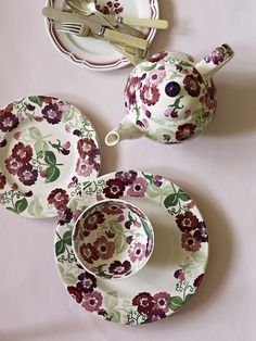 Emma Bridgewater - Zinnia ~ new for Spring 2013                                                                                                                                                                                 More