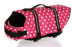 I just used this last weekend  Lovely Baby Pink White Dot Cute Pets Life Jackets Dogs Safety Clothing YC-D-LJ4001-PT (L) follow this link click here http://bridgerguide.com/lovely-baby-pink-white-dot-cute-pets-life-jackets-dogs-safety-clothing-yc-d-lj4001-pt-l/ for much more detail about it. Thanks and please repin if you like it. :)