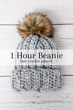 Quick Crochet Patterns, Easy Crochet Hat, Knit Or Crochet, Crochet Winter Hats, Mandala Crochet, Crocheting Patterns, Crochet Humor, Crochet Afghans, Crochet Blankets