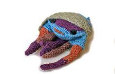 Cangrejo ermitaño / cangrejo / crochet /amigurumi / gift / diy / craft