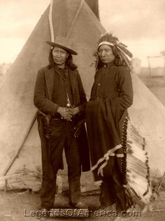 Oglala Lakota Sioux Chiefs, Red Cloud & American Horse