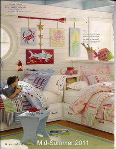 Cute wall art, cute kids room