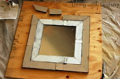 Make a Pottery Barn Mirror from Reclaimed Wood