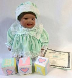 Shawna African American Porcelain Girl Doll Ashton Drake Galleries Certificate | eBay